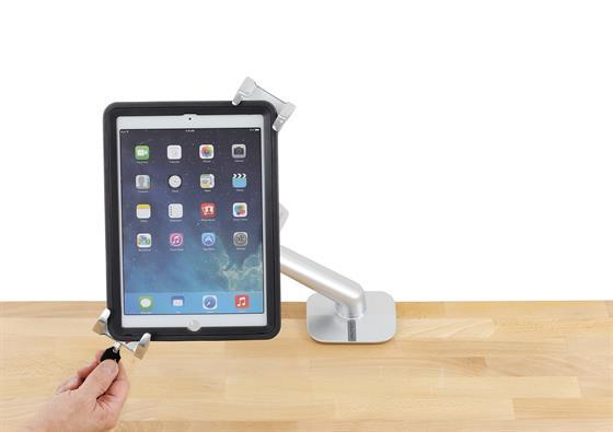 Lockable Tablet Mount. Fitneff Canada