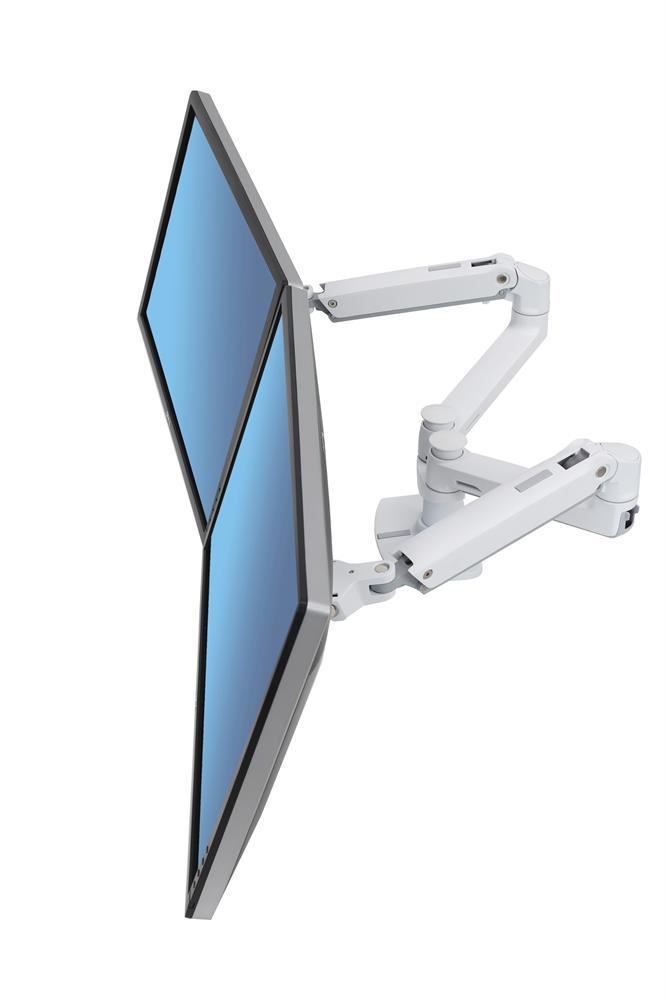Ergotron LX Dual Side-by-Side Monitor Arm, Fitneff Canada