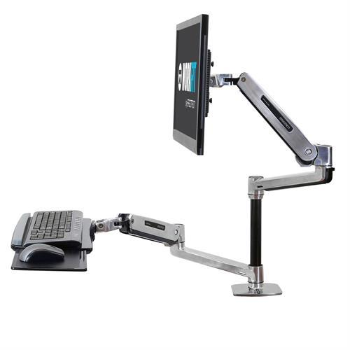 WorkFit-LX, Sit-Stand Desk Mount System. Ergotron from Active Goods Canada