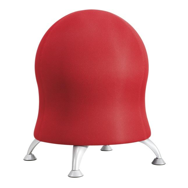 Focal Upright ergonomic Active ball chair from Fitneff Canada - crimson