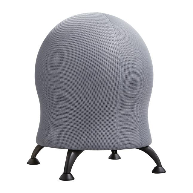 Focal Upright ergonomic Active ball chair from Fitneff Canada - grey