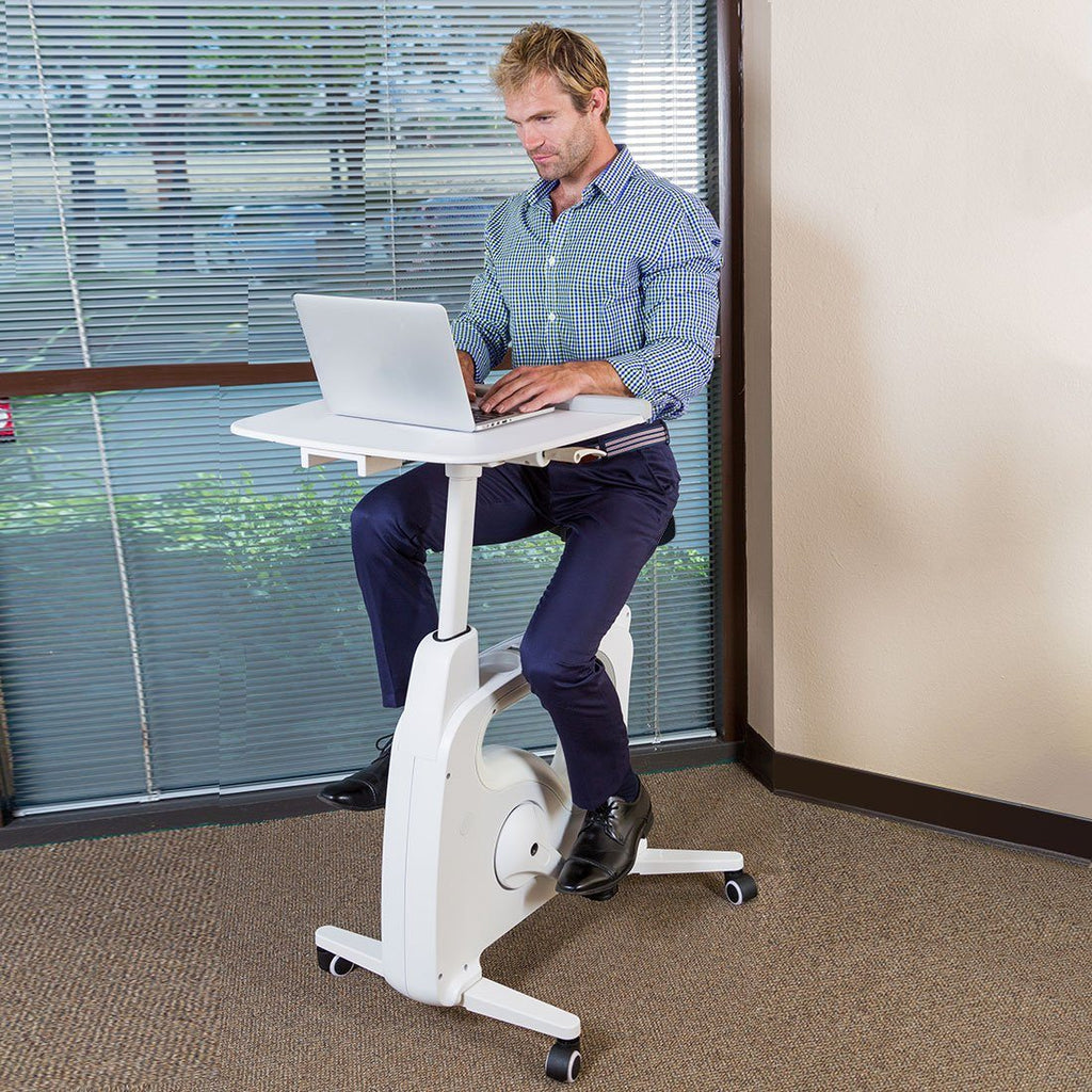 Deskcise Pro V9 Desk Bike by Loctek, Active Goods Canada - pedal while you work