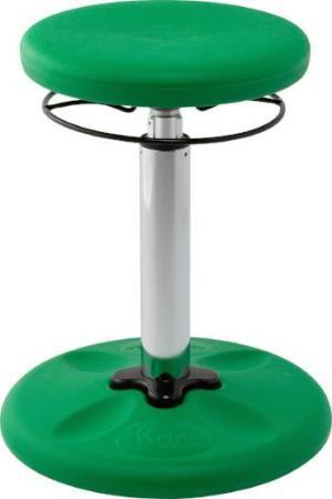 "Green Kore Kids Adjustable Grow-with-Me Wobble Chair 15.5"" - 21.5""  from Active Goods Canada"