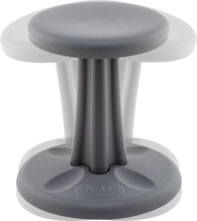 "Dark Grey Kore Kids Wobble Chair 14"" Fitneff Canada"