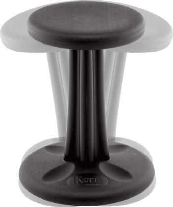 Black Kore Junior Wobble Chair Fitneff Canada