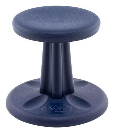 "Dark Blue Kore Pre-School Wobble Chair 12"" Fitneff Canada"