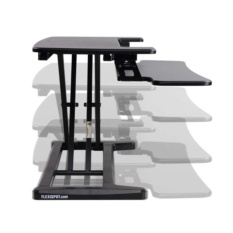 Loctek FlexiSpot Alcove Riser Height Adjustable Desk Converters M7N, M7MB, M7MN, M7C from Active Goods with Height Adjustable levels from Active Goods Canada