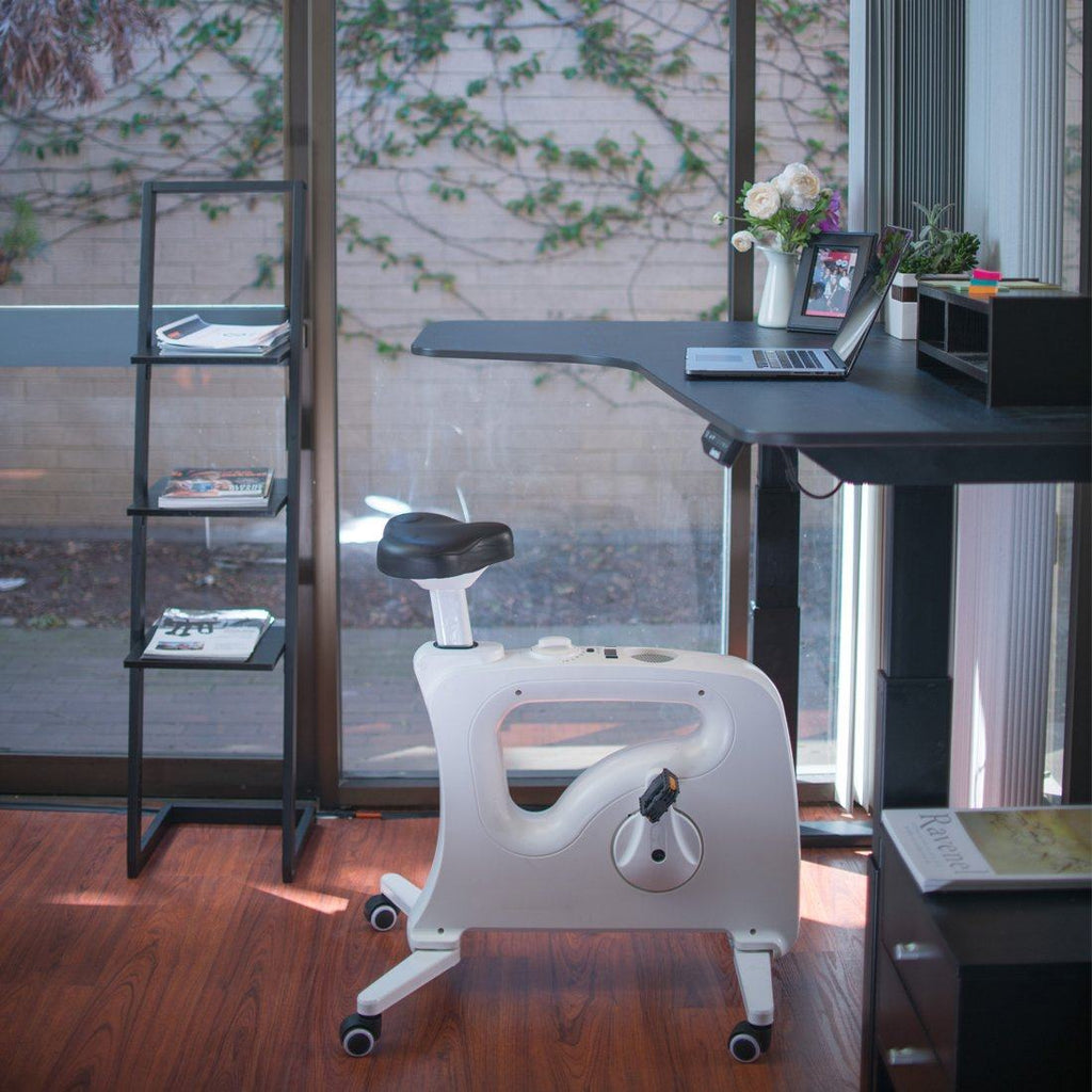 Active Office with FlexiSpot V9U Under-Desk Bike from Active Goods Canada