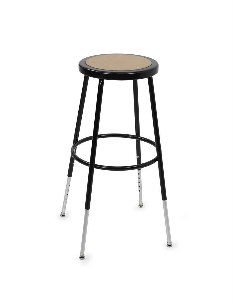 Ergotron Adjustable Classroom Stool for LearnFit Standing Desks from Active Goods Canada.