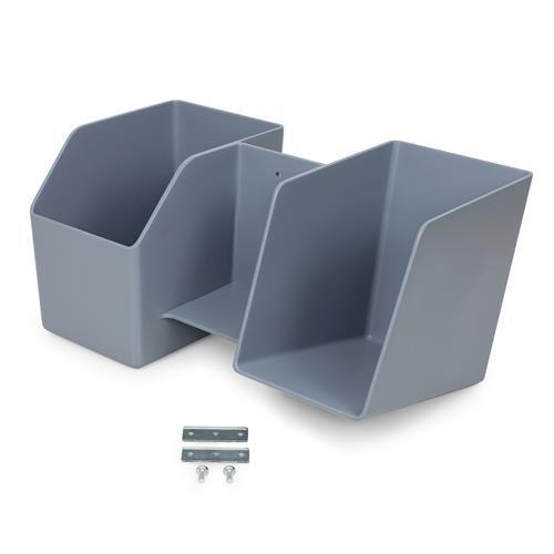 Storage bin for Learnfit sit-stand desk. Fitneff Canada