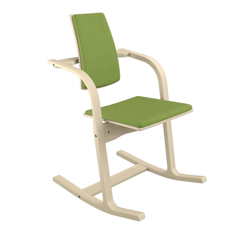 Varier Actulum 3150 Custom Order versatile chair from Active Goods Canada.  This ergonomic chair integrates movement at a workstation, conference board room or at the dining room table.
