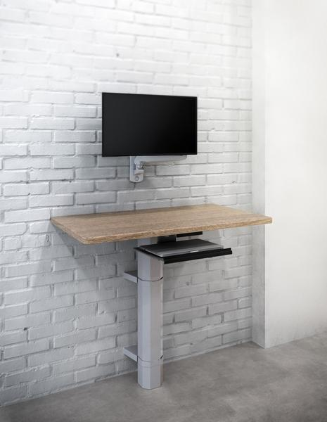 ESI Edge-Wall Monitor Arm by Fitneff Canada with Standing Desk