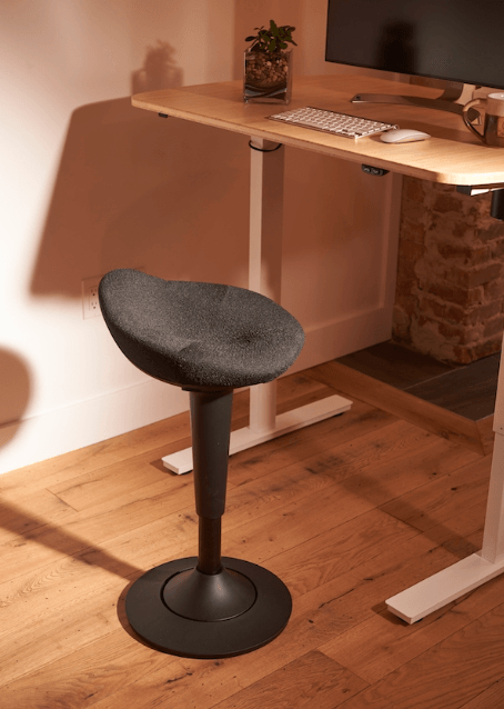 CorePerch Active Stool in Black from CoreChair by Active Goods Canada