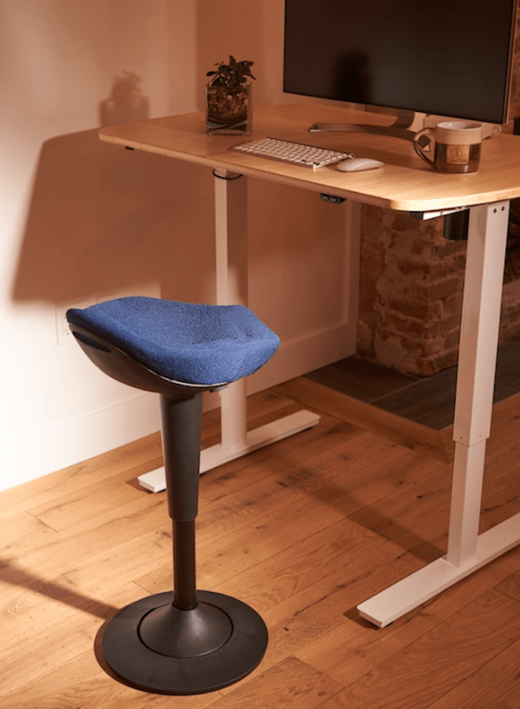 CorePerch Active Stool in Blue from CoreChair by Active Goods Canada