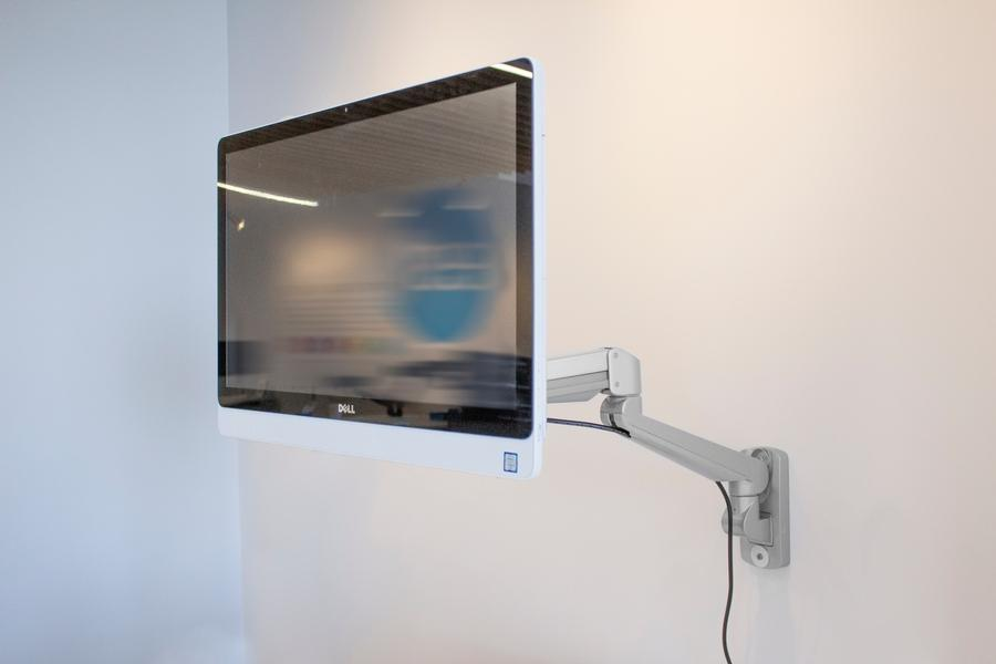 ESI Edge-Wall Monitor Arm from Active Goods Canada