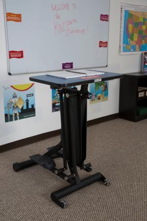 KidsFit Strider Desk from Active Goods Canadain classroom