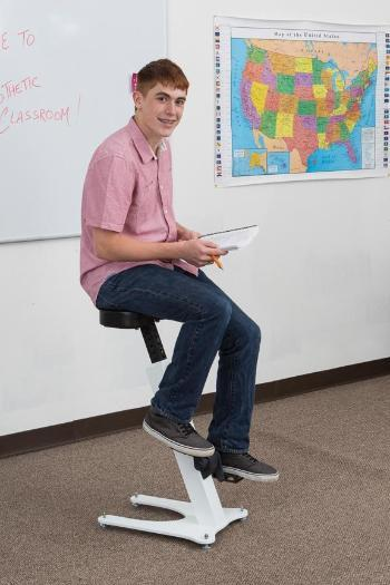 KidsFit Large Pedal Stool from Fitneff Canada - Movement in classroom