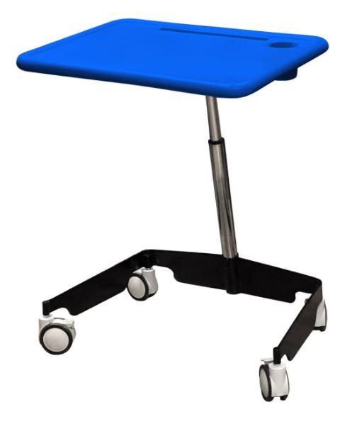 Kore Sit-Stand Mobile Desk from Active Goods Canada.  Classroom desk, student desk, mobile desk, adjustable desk, healthy and collaborative workspace