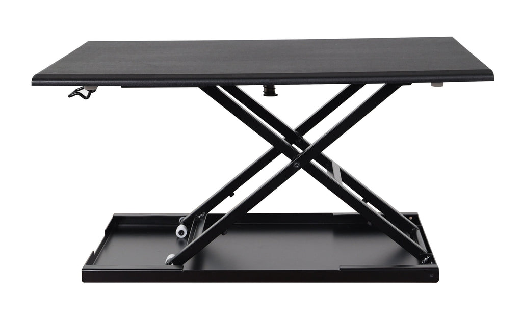 Luxor level up 32 standing desk converter - black
