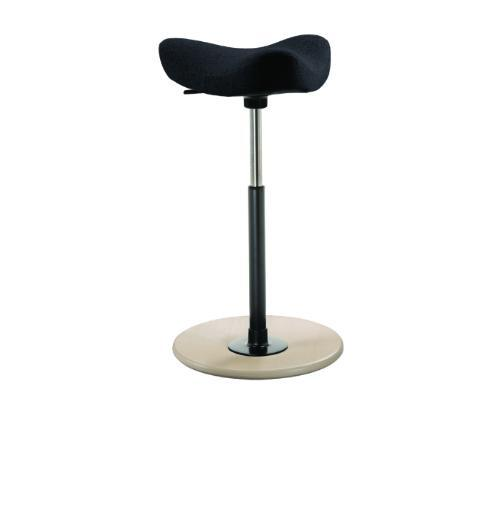 Varier Move ergonomic Active Stool from Fitneff Canada - black