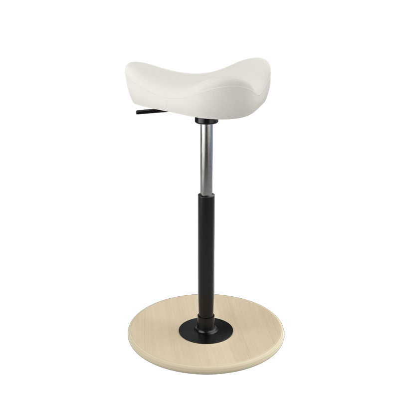 Varier Move Stool Small Fame Beige White FA0005 from Active Goods Canada