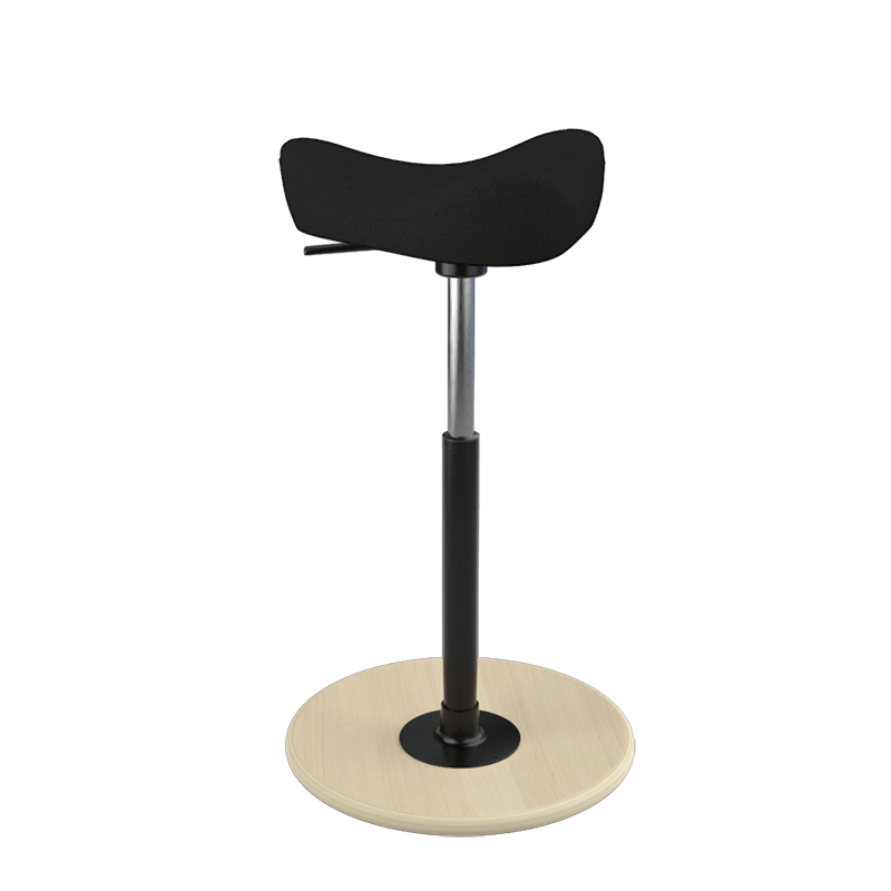 Varier Move Stool Small Fame Black FA0999 from Active Goods Canada