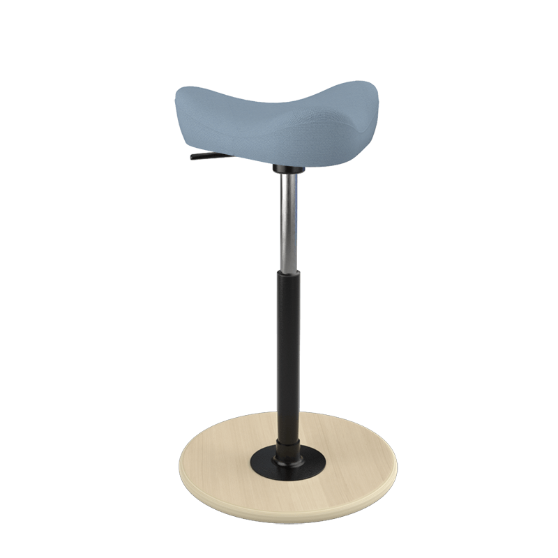 Varier Move Stool Fame Bluish Gray FA66130 from Active Goods Canada