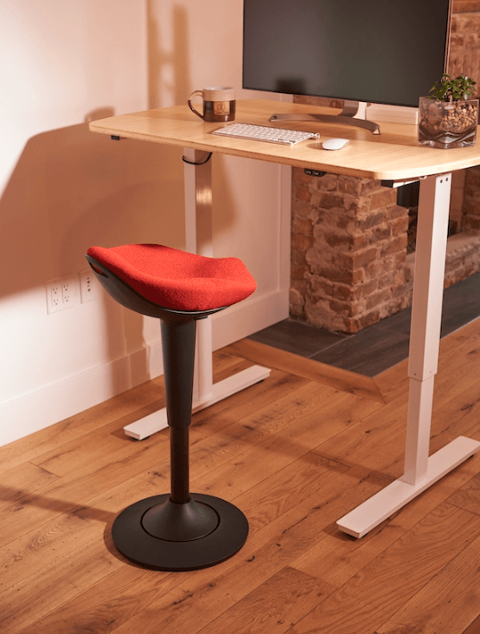 CorePerch Active Stool in Red from CoreChair by Active Goods Canada