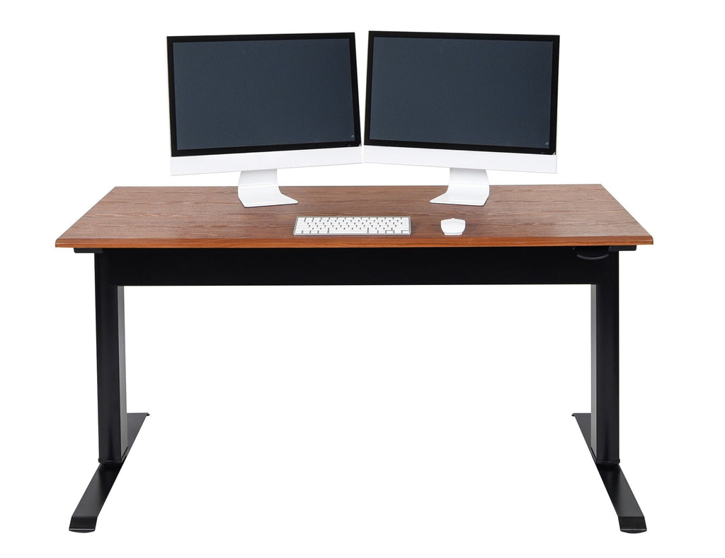 "Luxor pneumatic adjustable height standing desk 56"" from Active Goods Canada"