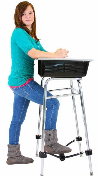 Standing Desk Conversion Kit with FootFidget Footrest from Active Goods Canada