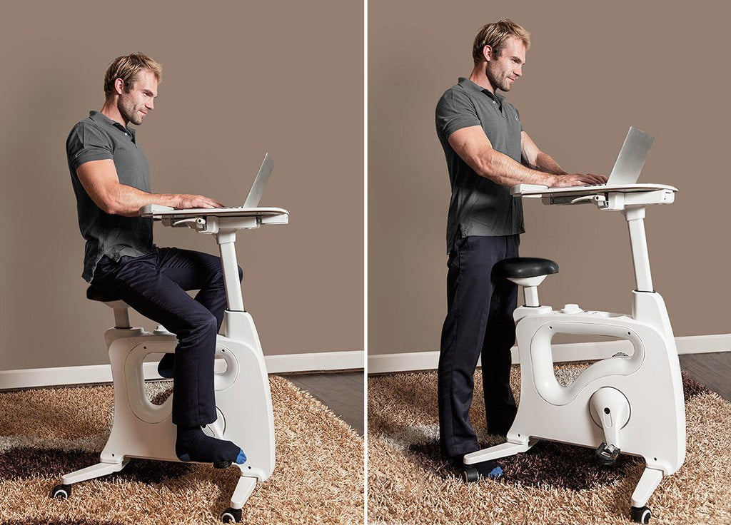 Deskcise Pro V9 Desk Bike by Loctek, Active Goods Canada - sit or stand desk