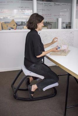Varier Variable balans ergonomic Active Stool from Active Goods Canada- blue