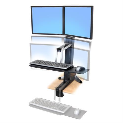 Ergotron WorkFit-S Sit-Stand Desktop Workstations from Active Goods Canada