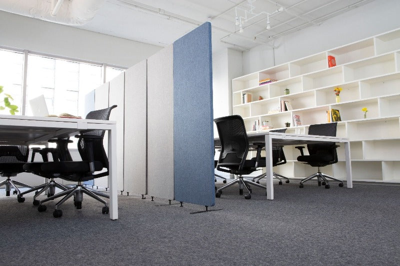 Acoustic Room Divider absorb noise in open concept office Fitneff Canada