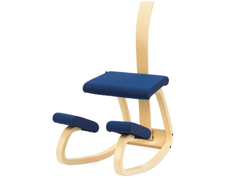 Varier Variable balans ergonomic Active sitting from Active Goods Canada - with back rest