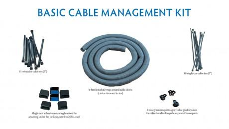 iMovR Basic Cable Management Kit from Fitneff Canada