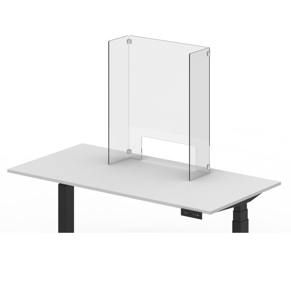 Luxor RECLAIM Acrylic Counter Sneeze Guard – Freestanding from Active Goods Canada