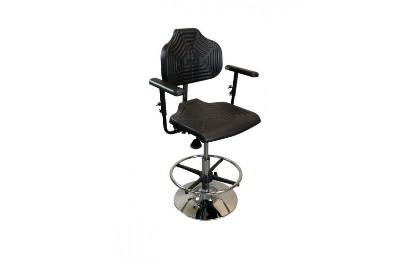 Tempo TreadTop Office Chair by iMovR with armrests from Active Goods Canada
