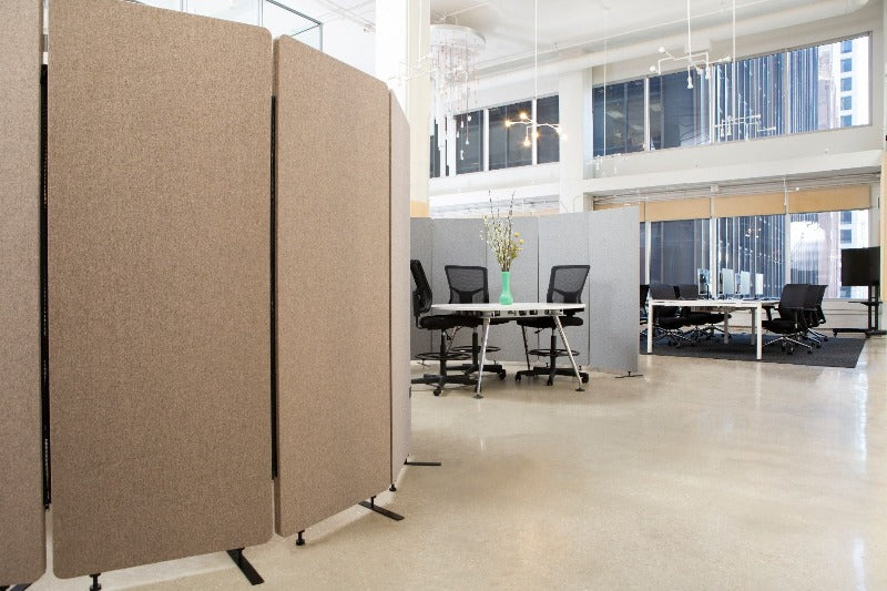Acoustic Room Divider absorb noise in schools Fitneff Canada