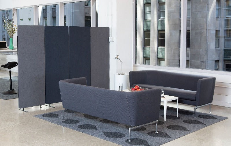 Acoustic Room Divider absorb noise in open concept office space Fitneff Canada