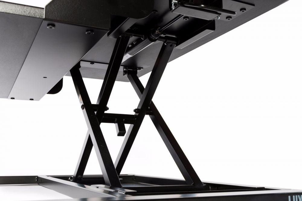 LUXOR Level Up 32 Pro Standing Desk Converter - mechanism from Active Goods Canada