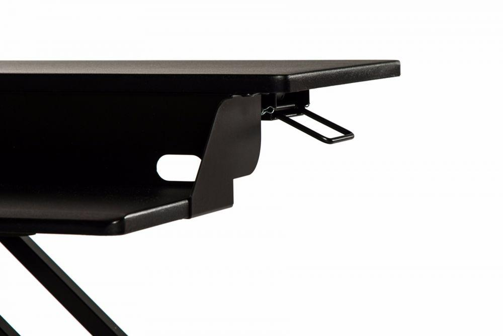 LUXOR Level Up 32 Pro Standing Desk Converter - lever from Active Goods Canada