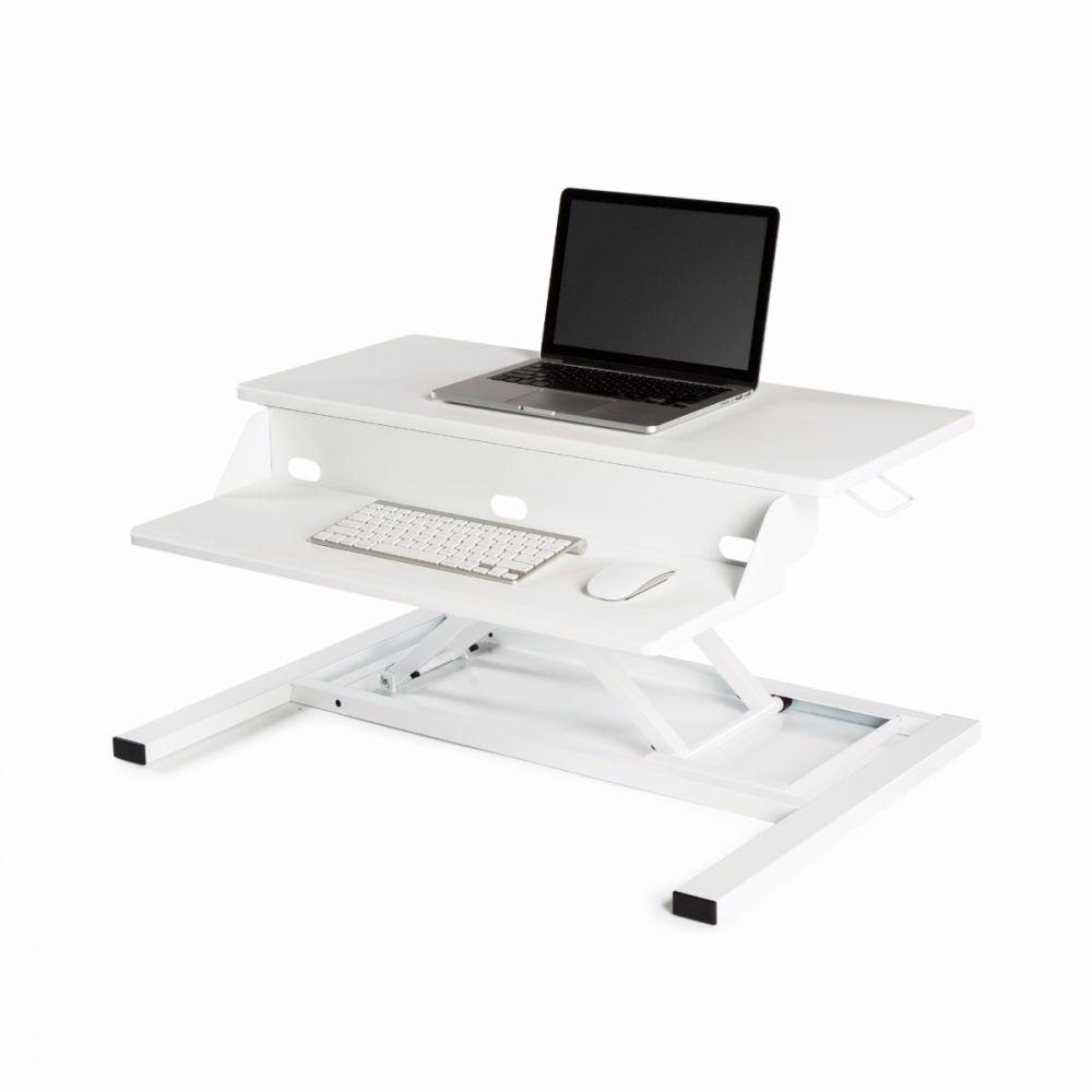 LUXOR Level Up 32 Pro Standing Desk Converter - White from Active Goods Canada