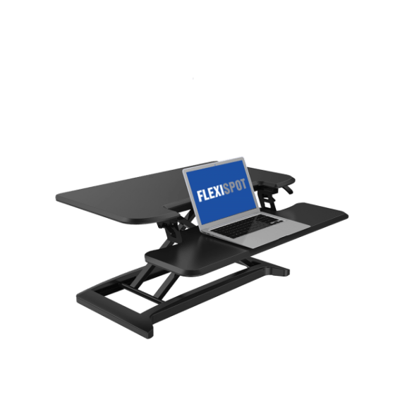 Loctek FlexiSpot Alcove Riser Height Adjustable Desk Converters M7N, M7MB, M7MN, M7C from from Active Goods Canada