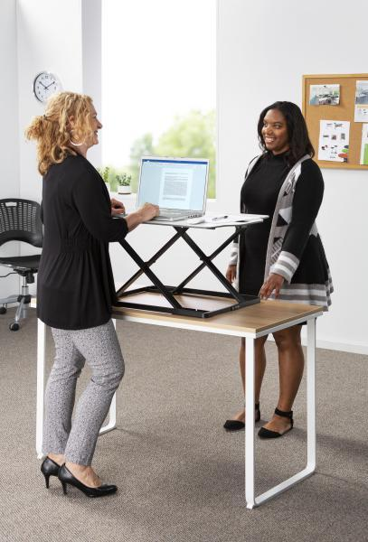 Safco Accent Sit-Stand Desktop Conversion