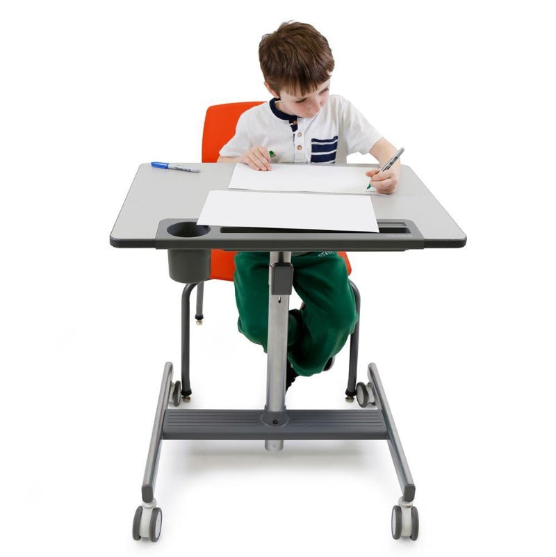 Classroom mobile standing desk from Active Goods Canada.