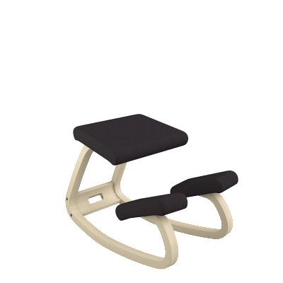 Varier Variable ergonomic Active Stool from Active Goods Canada black