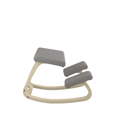 Varier Variable balans ergonomic Active Stool from Fitneff Canada - grey