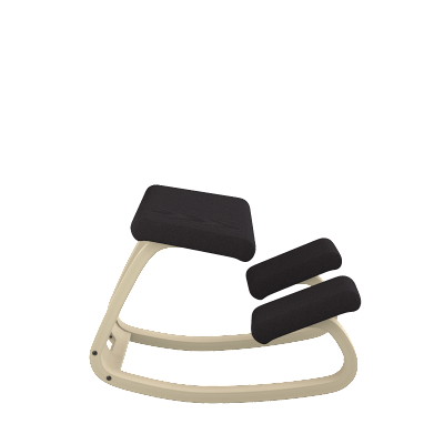 Varier Variable ergonomic Active Stool from Fitneff Canada - black