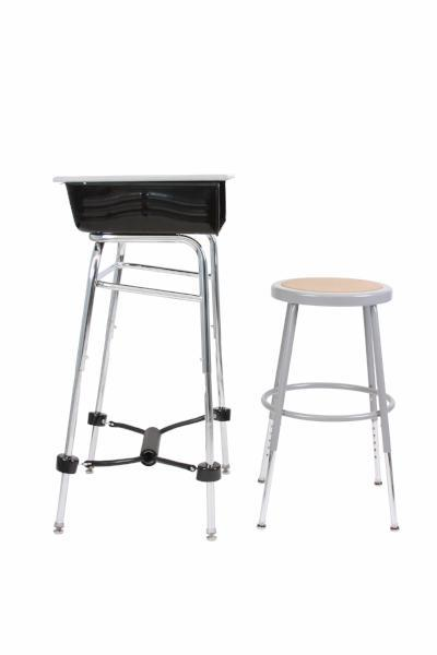 Standing Desk Conversion Kit with FootFidget Footrest, Fitneff Canada